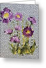 Purple Asters II  Greeting Card