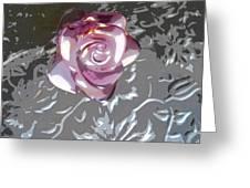 Purple Blossom Greeting Card
