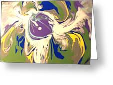Purple Calla Lilly Greeting Card