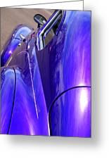Purple Chevrolet Greeting Card