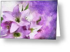 Purple Dreams Greeting Card