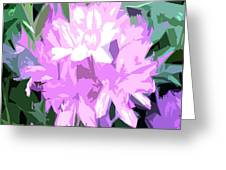 Purple Fades To Lilac Greeting Card