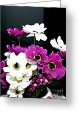 Purple Flowerspurple Flowers Greeting Card