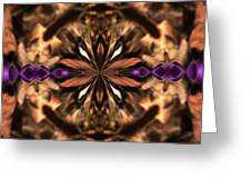 Purple Heart Design Greeting Card