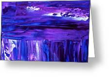 Purple Hue Greeting Card