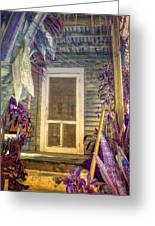 Purple Key West Greeting Card