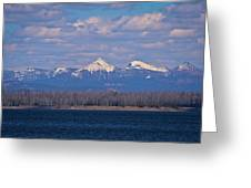 Purple Mountains Majesty Greeting Card by Brent Parks