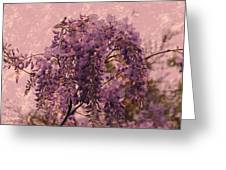Purple Pleasures Greeting Card