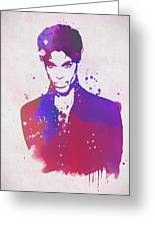 Purple Rain Greeting Card