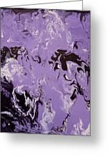 Purple Series No. 3 Greeting Card