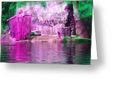 Purple Siren Greeting Card