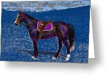 Purple Whiskey Greeting Card