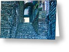 Purplesteps Greeting Card