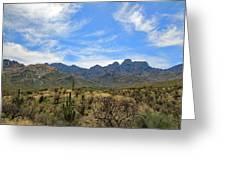 Pusch Ridge 4 Greeting Card