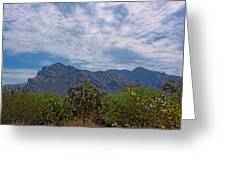 Pusch Ridge Morning H26 Greeting Card