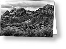 Pusch Ridge Snow No10 Greeting Card