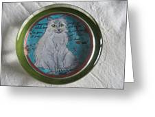 Pussycat 4 Greeting Card