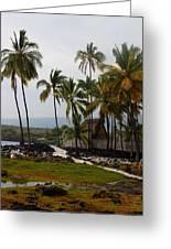Puuhonua O Honaunau National Historical Park Greeting Card