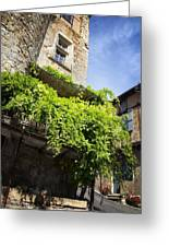 Puy L'eveque Old Stone House Greeting Card