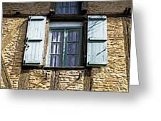 Puy L'eveque Window Greeting Card