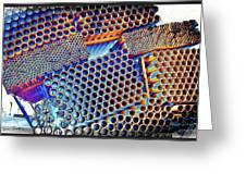 Pvc Abstract Greeting Card