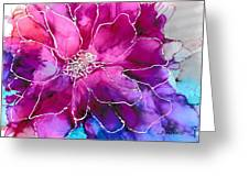 Powerfully Pink Greeting Card