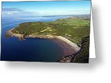 Pwll Du Bay Swansea Greeting Card