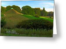 Pyramid In The Pueckler Park Greeting Card