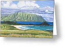 Pyramid Rock Greeting Card