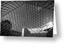 Pyramide Du Louvre Greeting Card