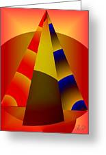 Pyramids Pendulum Greeting Card
