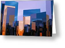 Q-city One Greeting Card