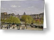 Quai Du Louvre In Paris Greeting Card