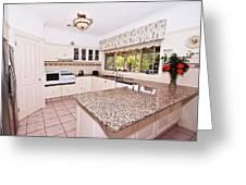 Quaint Kitchen Greeting Card