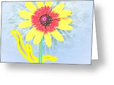 Quaint Little Daisy Greeting Card