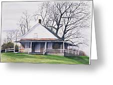 Quaker Meeting House Greeting Card