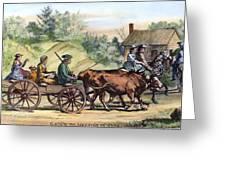 Quakers, 1776 Greeting Card