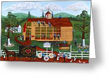 Quakers Acres Greeting Card