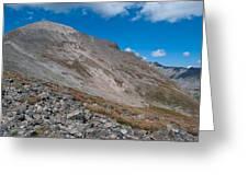 Quandary Peak Greeting Card