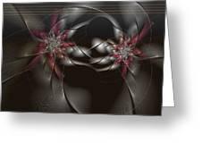 Quantum Collusion Greeting Card