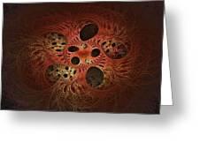 Quantum Tangles Greeting Card