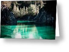 Quarry Waters Greeting Card