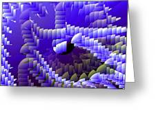 Quarter Spheres Greeting Card