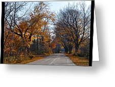 Quarterline Road Greeting Card