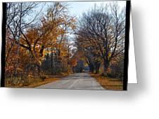 Quarterline Road Greeting Card