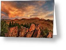 Quartzite Formations Greeting Card