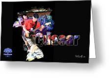 Quasar Greeting Card
