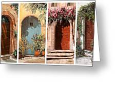 Quattro Porte Greeting Card