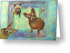 Que? Greeting Card