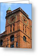Quebec Bank Building Greeting Card